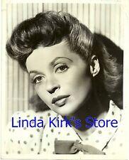 "Lilli Palmer Promotional Photograph ""Twentieth Century"" Head Shot CBS-TV"