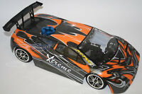 AUTO 1/10 LAMBORGHINI STYLE MOTORE A SCOPPIO 3cc RADIO 2.4GHZ 4WD RTR HIMOTO
