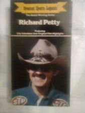 Greatest Sports Legends - Richard Petty 1988 VHS features interviews & highligts