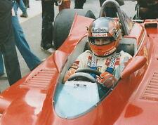GILLES VILLENEUVE ORIGINAL F1 WATKINS GLEN FERRARI MARLBORO 8 X 10 PHOTO