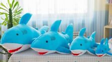 40cm Blue Huge Shark Stuffed Animal Plush Soft Baby Toys Doll Pillow Kids Gift
