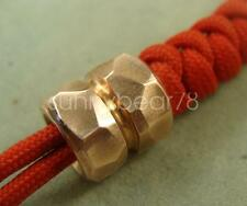 Lanyard Bead Parachute Cord Knife Tool pendant 5.5mm Hole Copper beads