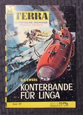 Vintage TERRA Science Fiction Digest German Magazine #397 VG/FN H.G. Ewers