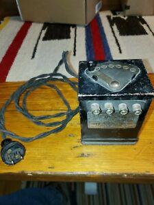 Antique Lionel Train Type W 75 Watts Transformer Original 1930's & Works