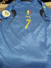 Alessandro Del Piero Signed 2006 World Cup Italian Jersey Coa+Proof