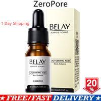Zero Pore Instant Perfection Serum Lactobionic Acid Essence Anti-Aging Wrinkle