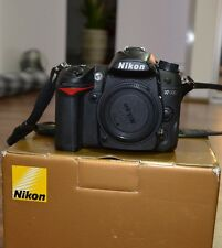 Nikon D7000 DSLR BODY ONLY, SHUTTER COUNT 6736 (6%)! AS NEW CONDITION, BOXED.