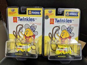 M2 Machines 1960 VW Delivery Van Twinkies CHASE & Regular Hobby Exclusive HS-13