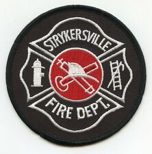 STRYKERSVILLE NEW YORK NY FIRE PATCH