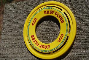 Wham-O Frisbee Flying Ring G-70 San Gabriel, California 1978 Easy Flyer Yellow