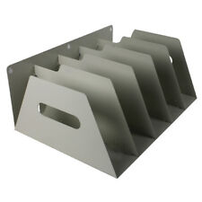 Rotadex Smoke White 5 Section Lever Arch Filing Rack LAR5