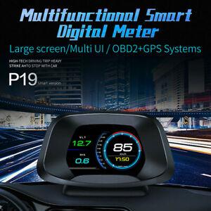 Multifunctional Digital Meter Car HUD Head Up Display Speed RPM ECT VLT FUE OIT