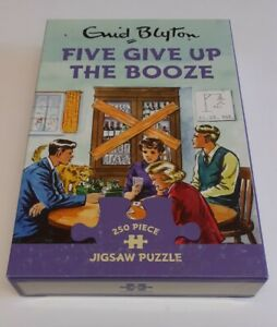 NEW Gibsons Enid Blyton Five Give Up The Booze 250 Piece Jigsaw Puzzle G2752