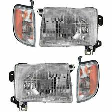 FOR NS FRONTIER 1998 1999 2000 HEADLIGHT & CORNER RIGHT & LEFT (=00-01 X-TERRA)
