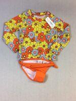 Gymboree Floral Swimsuit Size 2T. (9A23)