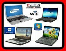 CHEAP FAST DUAL CORE LAPTOP WINDOWS 10 or 7 OS, 2GB, 4GB, 6GB, 8GB SPEC WARRANTY