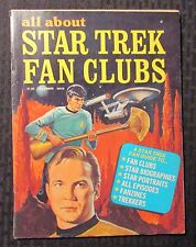 1976 All About STAR TREK Fan Clubs Magazine #1 FN- 5.5 Fanzines / Biographies