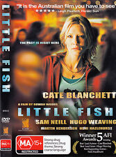 Little Fish DVD_Cate Blanchett_Australian Movie_Ex Rental