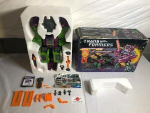 1986 Scorponok Complete G1 Transformers MIB Boxed Unused Decals