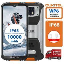 OUKITEL WP6 IP68 Móvil Libre Resistente 6GB+128GB Dual 4G Impermeable Smartphone