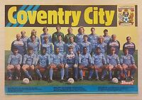 Shoot Football Magazine Team / Squad Pictures Coventry City - Various Seasons