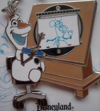 Disneyland DLR 2015 Drawn to Disney Annual Passholder Frozen Olaf Pin! N3W! HOT!