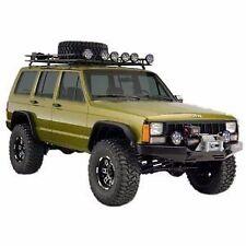 10922-07 Bushwacker Flat Style Fender Flares Jeep Cherokee XJ 1984-2001