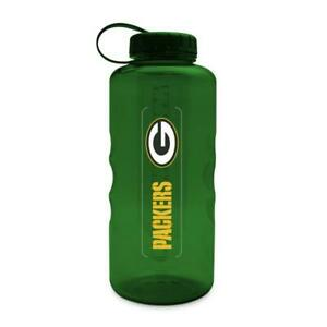 GREEN BAY PACKERS, 66 oz ENERGY, PLASTIC WATER BOTTLE FROM DUCKHOUSE SPORTS