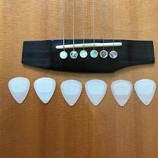 6 Jim Dunlop .67mm  Glow In The Dark Plectra Nylon Guitar Picks