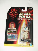 Star Wars Episode I Action Figure w/ CommTech Chip-Obi-Wan Kenobi w/ Lightsaber