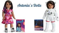 American Girl Luciana Vega Doll And Book WITH SPACE SUIT SPACESUIT NEW IN BOX