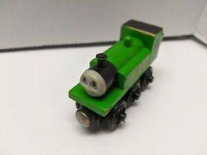 Thomas & Friends Wooden Railway OLIVER Train Engine Car GUC
