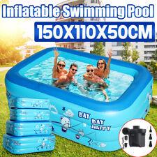Familienpool Aufblasbare Pool Kinderpool Planschbecken Schwimmbad Schwimmbecken