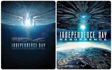 Independence Day / Resurgence 3D (Zavvi Exclusive Ltd Ed Blu-ray Steelbooks) [UK
