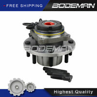 Front Wheel Hub & Bearing for 4x4 Ford F-550 F-450 F-350 F-250 Super Duty DRW