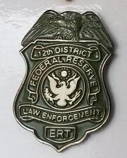 US Federal Reserve 12th District ERT Law Enforcement MINI PIN Response SRT