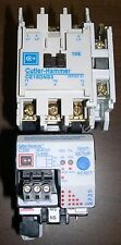 EATON CUTLER-HAMMER, CE15DNS3 CONTACTOR WITH OVERLOAD AND MORE, SLIGHTLY USED
