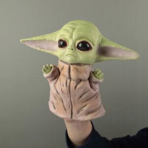 Star Wars The Mandalorian Baby Yoda Hand Puppet Soft Kids Toy Yoda Head Gloves