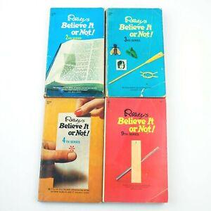 RIPLEY'S BELIEVE IT OR NOT! 4-Paperback Lot (No's 2, 3, 4, 9)