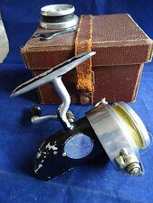 SCARCE WAR TIME FINISH HARDY ALTEX NO. 1 MK IV THREADLINE SPINNING REEL +SS +BOX