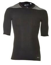 Adidas Techfit Base SS Shortsleevle T-Shirt Funktionsunterwäsche Gr. XS  schwarz