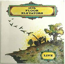 "The 13th Floor Elevators ""Live"" Vinyl LP - Rare 1968 IA First Press - VG+ / EX"