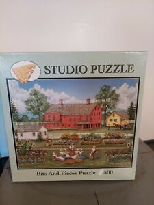 Bits and pieces 500 Pcs. Puzzle used Sisters in the garden