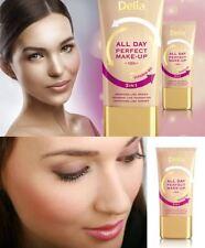 Delia Cosmetics 3in1 Primer Foundation Powder All Day Perfect Make-Up vitamin B3