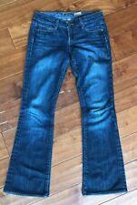 Paige Laurel Canyon Bootcut Flare Jeans Denim Pants Sz 26 x 29 Excellent Con