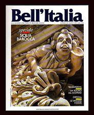 BELL'ITALIA N.88 8/1993 LA SALLE MONRUPINO LUCIGNANO MONTEFALCO ORTONA FIRENZE