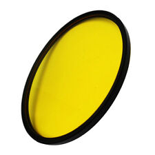 95mm Full Color Lens Filter For DSLR Camera Accessories Yellow Canon Sony Nikon