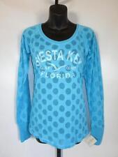 New Siesta Key Florida Gulf Coast Womens Medium (M) Burnout Shirt by J.America