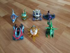 7 Skylander Video Game Action Figures Toys Lot Collection Activision Car Vehicle