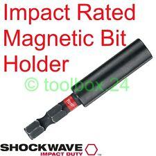 Milwaukee Impact Duty Magnetic Screwdriver Bit Holder (for DeWalt Bosch Makita)
